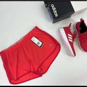 Woman's Adidas Marathon 20 Lined Running Shorts